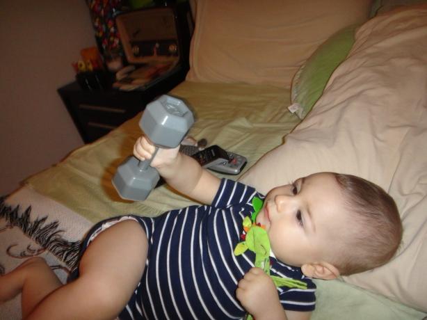 My Future Bodybuilder